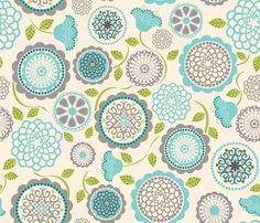 Inverness White fabric by natitys on Spoonflower - custom fabric or wallpaper