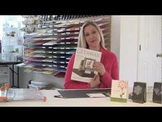 ▶ Embroidered Blossom Card - featuring Stampin' Up product - YouTube