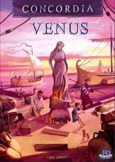 Concordia Venus Expansion Plus Base Game Board Game Geek, Board Games For Kids, Games To Play, Strategy Games, Best Games, The Expanse, Venus, Anime, Maps