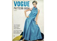Vintage 60's Vogue Pattern Book Magazine June July Summer Motif Vintage, Vintage Patterns, Date Dresses, Summer Dresses, Maternity Patterns, Collection Capsule, Vogue, Young Fashion, Pattern Books