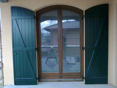 Wood windows_Wood balkony_Wood sliding doors_Exterior design_Dream home_Home building Wood Windows, Wood Doors, Balcony Doors, Sliding Doors, Curtains, Design, Home Decor, Windows, Wooden Window Boxes