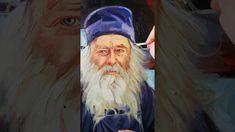 Părintele Proclu pictură în ulei pe pânză Owl, Bird, Painting, Animals, Animales, Animaux, Owls, Birds, Painting Art
