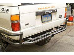 Toyota 1984-1995 Hilux Pickup Truck/4Runner Rock Defense Rear Bumper