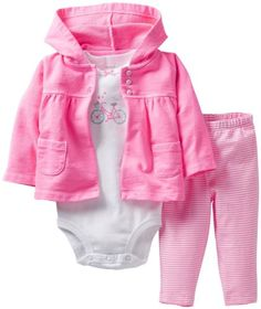 Baby Girl Clothes at Macy's - Baby Girl Clothing - Macy's Carters Baby Clothes, Carters Baby Girl, Cute Baby Clothes, My Baby Girl, Baby Girl Newborn, Baby Girls, Baby Baby, Babies Clothes, Baby Outfits