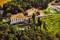 il castagno, the villa we stayed at when my cousin got married in tuscany