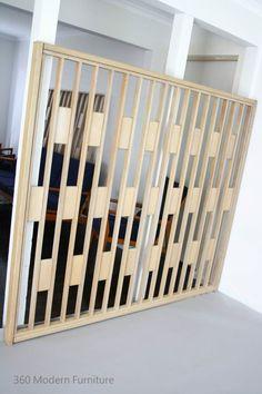 360 Modern Furniture 360 Modern Furniture Dark S sh Dark S sh MID Century Modern Screen Room Divider Partition Retro Vintage Wall Geometric Dario Zoureff era in VIC 360 hellip
