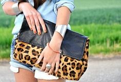 leopard bag. yes, please.