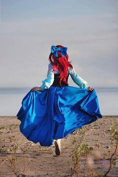 Photo by Letaur Cosplay by 2013 year Ariel: The Little Mermaid 5 Disney Cosplay, Ariel Cosplay, Princess Aesthetic, Disney Aesthetic, Halloween Cosplay, Halloween Costumes, Disneyland, Ariel Costumes, Mermaid Costumes