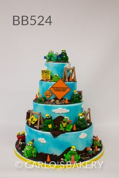 Carlo's Bakery - Boy Book Specialty Cake Designs