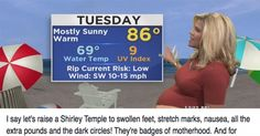 Pregnant Meteorologist Responded To The Jerks Who Body Shamed Her, And It Was Epic! Parenting Teenagers, Parenting Books, Single Parenting, Parenting Humor, Parenting Advice, Family Relations, Pregnant Celebrities, Body Shaming, Faith In Humanity