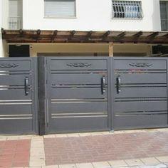 Model: CC Garage Doors Installations - contemporary - garage Doors by Contemporary Garage Doors, Contemporary Style Homes, Aluminium Gates, Door Gate Design, Garage Door Installation, Welding Projects, Garages, Fences, Decorating