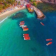 Playa costera.