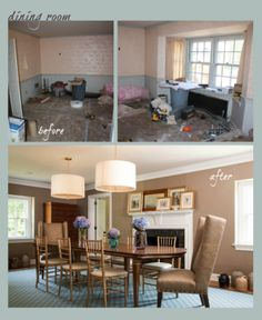 Before and after home renovations Hodgins Realty Group - Mississauga Real Estate - Mississauga Homes For Sale