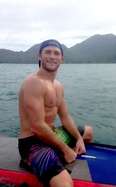 DADDY CLINT you did GOOD! Original Caption: Scott Eastwood Goes Shirtless, Shows Off Chiseled Abs in Hawaii