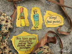 Biz bize gerici diyenlere ancak 'Deh' demek için gerideyiz. Necip Fazıl Kısakürek. - Follow The Yellow Post By Esra Arslangilay