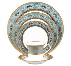 Noritake China: International Collection: International Collection: Georgian Turquoise