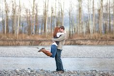 engagement photos, engagement photography, couples, nooksack river