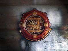 Steampunk Wall Clock style Art Industrial Vintage Sculptural in Casa, arredamento e bricolage, Orologi e sveglie, Da parete | eBay