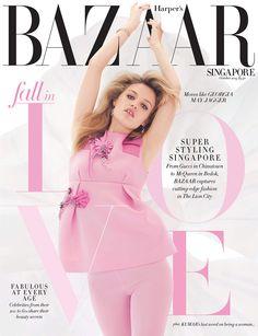 Harper's Bazaar Singapore October 2015 Cover