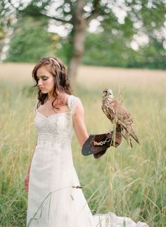 falconry inspired photo shoot... must have!