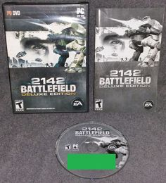 Battlefield 2142: Deluxe Edition (PC, 2008) Military Combat Strategy Action War