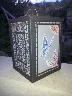 Barnsley Crafter: Chinese Lantern using Leonie Pujols New Stamp Coll...