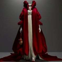Can I please have this? Another Alexander McQueen number that reminds me of fantasy Red Riding Hood