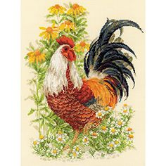 Unfortunately, it looks like this designer's blog has been taken down. It might be temporary, so I'll keep an eye out to see if the site comes back online. This is a beautiful rooster d…
