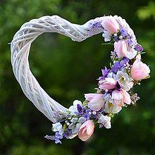 Veniec s ružovými tulipánmi / Hydrangea - SAShE.sk - Handmade Dekorácie Spring Wreaths, Floral Wreath, Easter, Decor, Floral Crown, Decoration, Easter Activities, Decorating, Flower Crowns