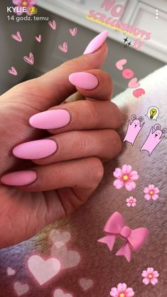 kylie jenner💗🌸🎀 hochgeladen von sofia auf We Heart It – Long nails – Ongles Kylie Jenner, Kylie Jenner Nails, Kendall Jenner, Kylie Jenner Snapchat, Khloe Kardashian Nails, Perfect Nails, Gorgeous Nails, Matte Nails, My Nails