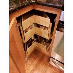 lemans storage lazy susan #kitchen #cabinets #lazysusan   For The ...