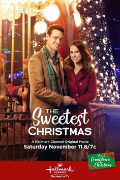 The Sweetest Christmas - Lacey Chabert and Lea Coco, premieres November 11th on Hallmark Channel. #CountdowntoChristmas TheSweetestChristmas #HallmarkChannel