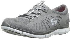 Skechers Sport Women's TGIF Fashion Sneaker Grey 8 B(M) US #Skechers #Grey