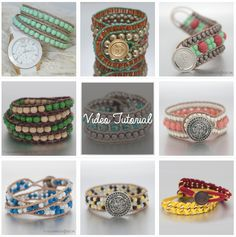 Great website with ideas and tutorials on how to make these DIY wrap bracelets!