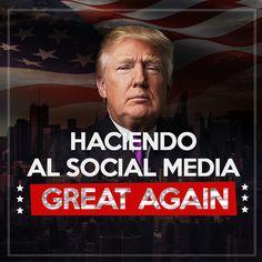 Donald Trump se catapultó a la presidencia de los EEUU en gran medida gracias al poder de el Social Media en el uso estratégico de varios canales, sobre todo Twitter y generar tráfico de información hacia su marca o campaña política.