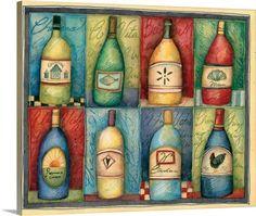 Wine Bottle Grid
