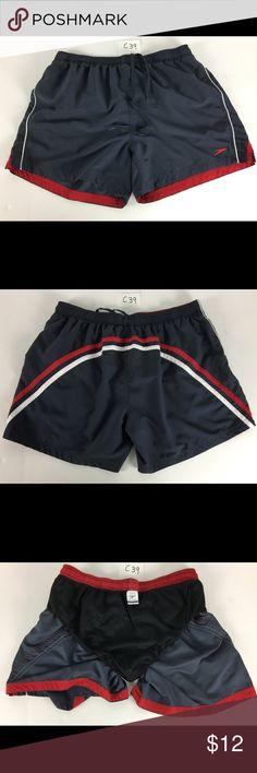 Speedo Swim Trunks Men's Shorts Blue 2XL