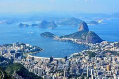 Sugar Loaf Mountain View from Corcovado, Rio de Janeiro | Backpacker Travel Guide to Brazil by Hibiscus & Nomada
