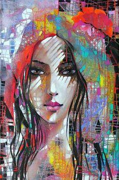 Beautiful And Sensual Paintings Of Women By Ira Tsantekidou