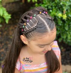 Toddler Braided Hairstyles, Toddler Braids, Lil Girl Hairstyles, Girls Natural Hairstyles, Toddler Hair, Easy Hairstyles, Natural Hair Styles, Girl Hair Dos, Baby Girl Hair