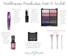 Marcas de maquiagem baratinhas: wet n wild beauty