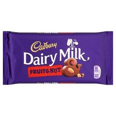 Cadbury Dairy Milk Fruit & Nut Chocolate Bar 200g