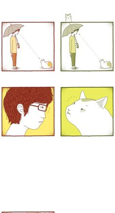 The House Cat by Kim Kyoung -  Love at first sight.