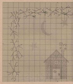Schema punto croce Cottage Inthe Sticks 02