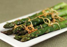 Ginger Roasted Leeks & Asparagus