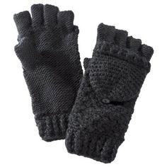 Mossimo Supply Co. Fliptop Glove - Black