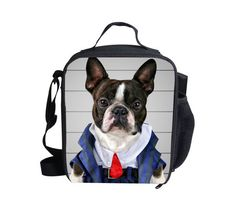 dog Lunch box bag animal casual cooler bag small bag for children to picnic #WHOSEPET #Animals