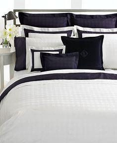 Lauren Ralph Lauren Bedding, White Glen Plaid Suite Collection - Bedding Collections - Bed & Bath - Macy's
