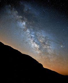Vía Láctea desde el Pico Revolcadores, #Murcia