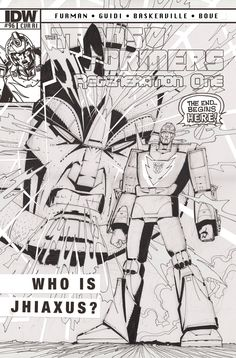 "Transformers Regeneration One #96—Subscription Variant  Simon Furman (w) • Guido Guidi (a) • blank sketch cover (c)  For subscription customers only… enlist at your local comic shop! A blank cover for your favorite artist to draw an original sketch! Celebrating original art! It's ""Artist's Edition Month!"" FC • 32 pages • $3.99"